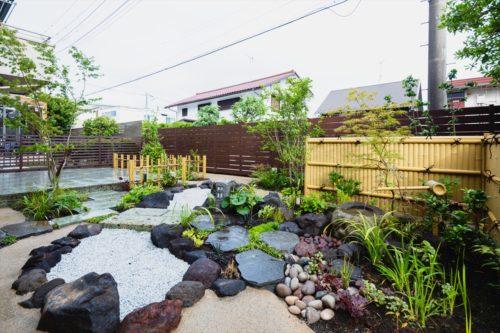 【施工事例を更新しました】ローメンテナンスな和風ガーデン